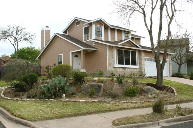 Residential exterior house painting job - RW