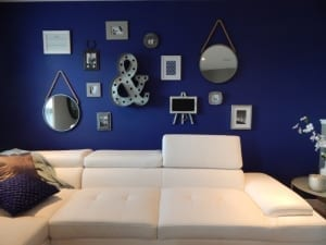 blue living room paint color