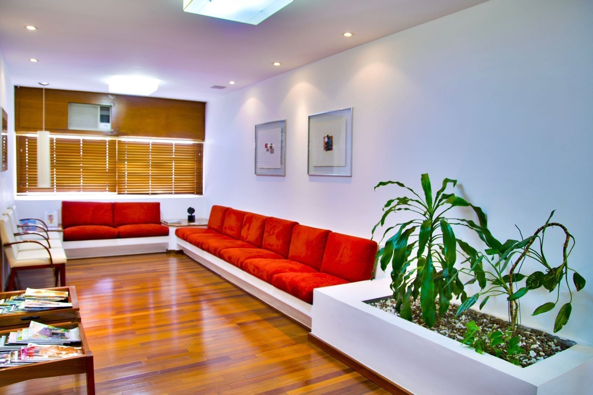 Commercial painting - office waiting room