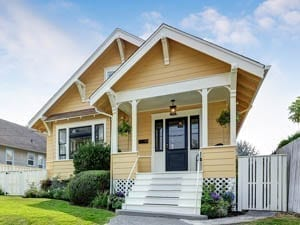 Austin Painter Yellow House