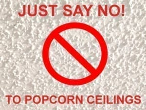Popcorn Ceiling Texture Removal Service