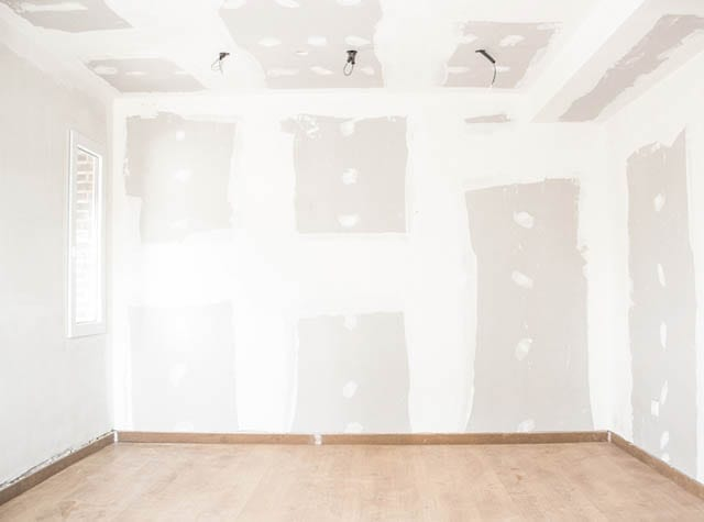 Sheetrock repair and drywall services