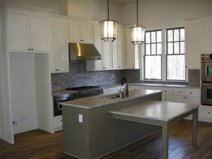 Kitchen Cabinet Painting - Painted Kitchen Island
