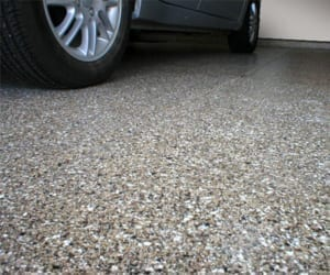 painting a garage - epoxy floor coatings