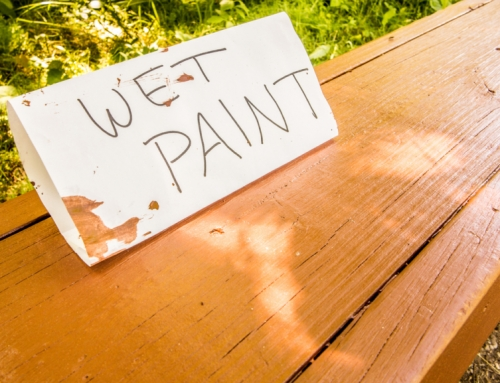 Interior Painting Project – Waiting For Paint To Dry?