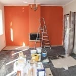 popcorn ceiling texture removal - house