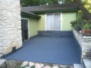 House painting exterior services - porch painting