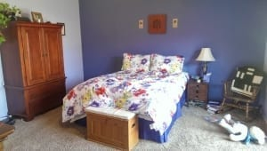 Blue Bedroom - Interior Painting