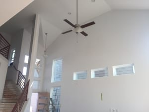 Cathedral Ceiling Living Room