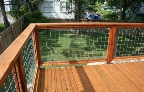 Restain Deck and Railing