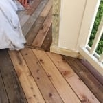 Rotten wood repair - deck boards
