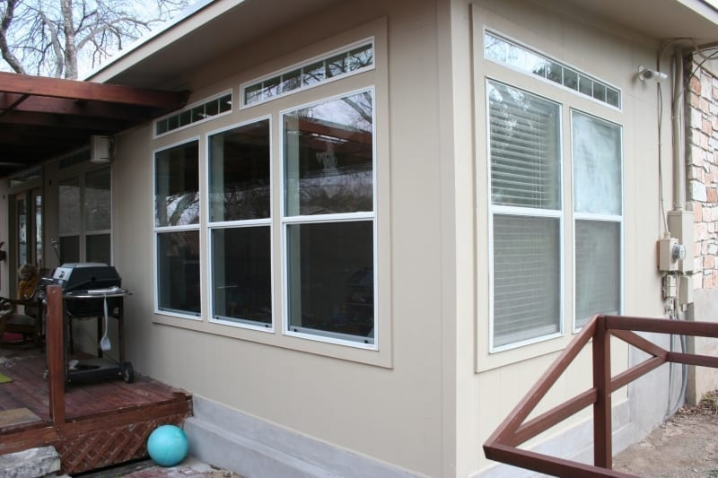 Exterior Remodel - Painted Addition