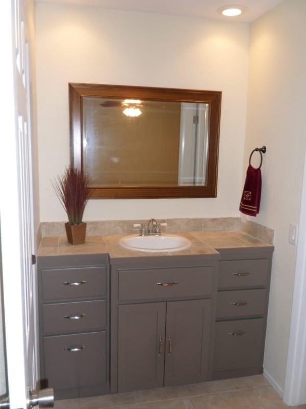 Interior Painting - Bathroom Vanity