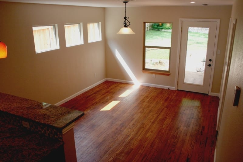 Popcorn Ceiling Remoal Dining Area