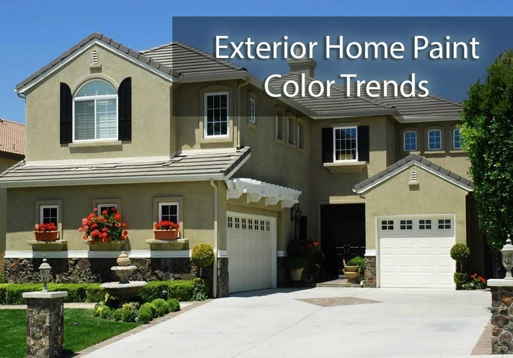 Exterior Home Paint Color Trends For Central Texas