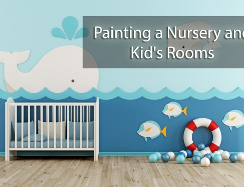 Painting a Nursery and Kid's Rooms