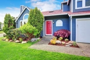 exterior house painting - curb appeal