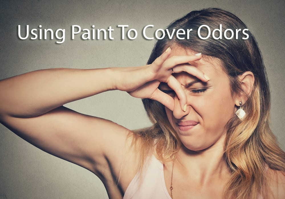 Using Paint To Cover Odors Interior
