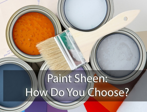 Paint Sheen – How Do You Choose?