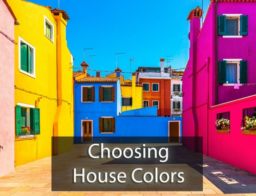 Choosing House Colors – Use A Consultant!