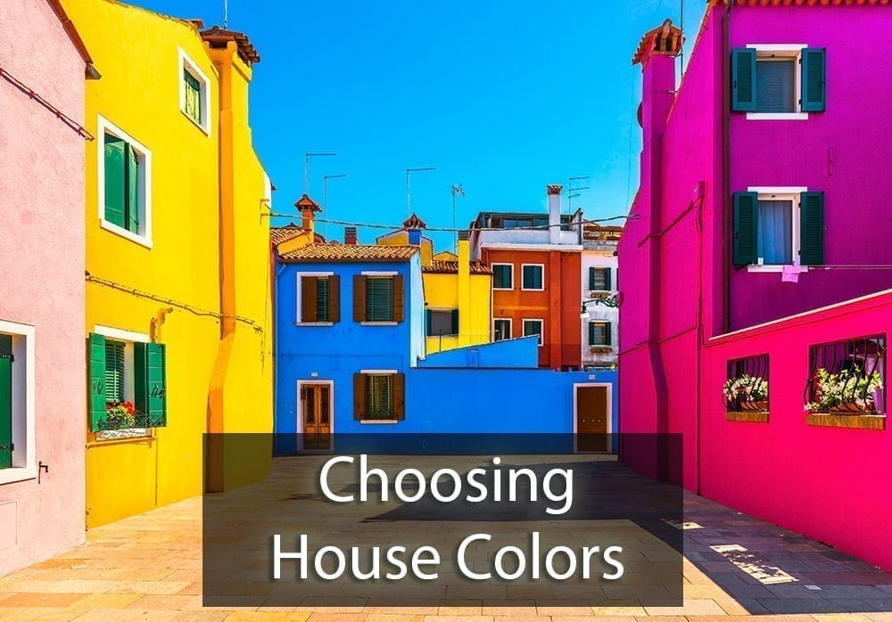 Choosing House Colors - Use A Consultant!
