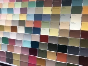 bathroom paint color samples