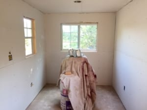 Sheetrock Repair - New Installation