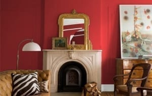 Home paint colors - Red