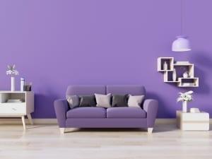 Home paint colors - Purple