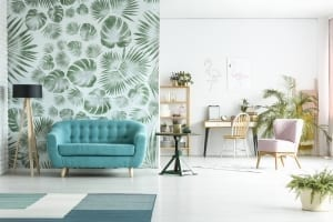 Interior Design Trends - wallpaper