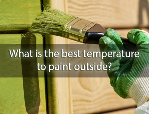 What is the Best Temperature to Paint Outside?