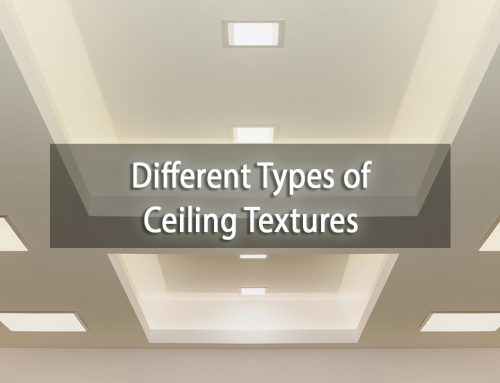 The Different Types of Ceiling Textures You Need to Know About