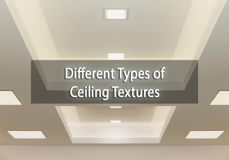 Different type of ceiling textures - cover