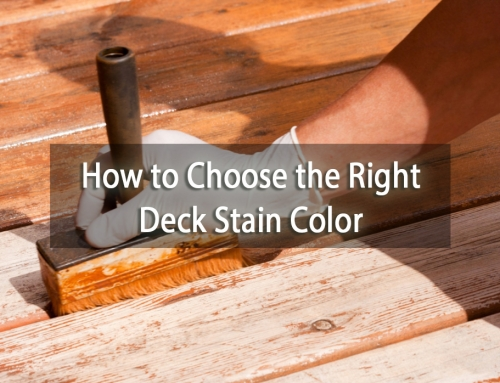 How to Choose the Right Deck Stain Color