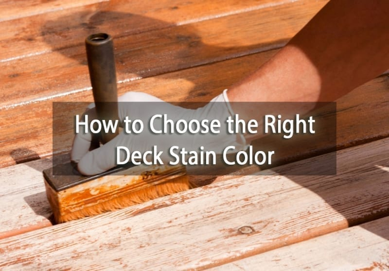 How to Choose the Right Deck Stain Color - cover