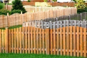 fence stain color options