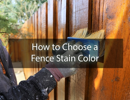 How to Choose a Fence Stain Color