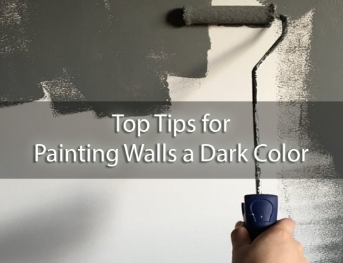 Switching Over to the Dark Side: Top Tips for Painting Walls a Dark Color