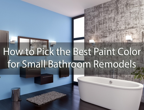 How to Pick the Best Paint Color for Small Bathroom Remodels