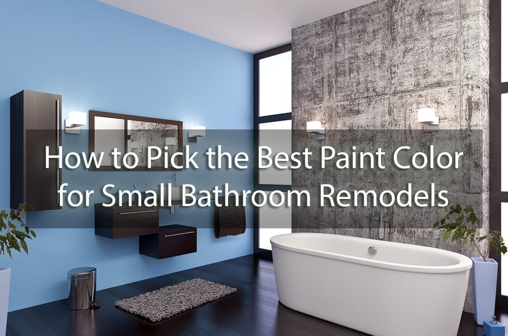 How To Pick The Best Paint Color For Small Bathroom Remodels Surepro Painting