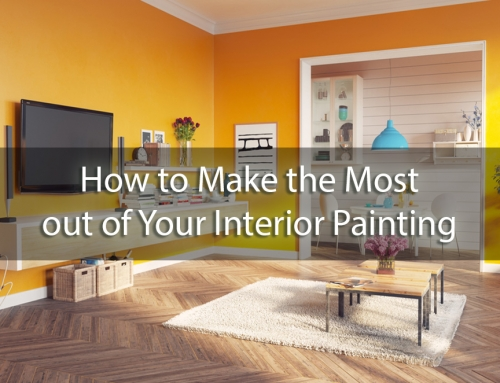 A Splash of Color: How to Make the Most out of Your Interior Painting