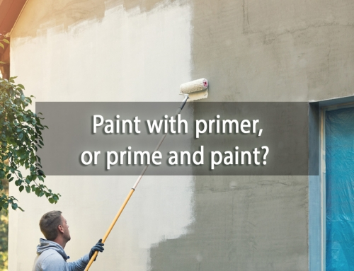 Paint with primer, or prime and paint? Which to Use