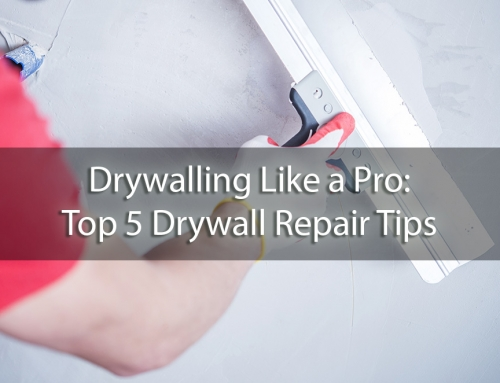 Drywalling Like a Pro: Top 5 Drywall Repair Tips