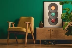 hunter green interior paint color