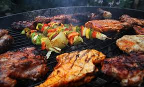 BBQ on the deck