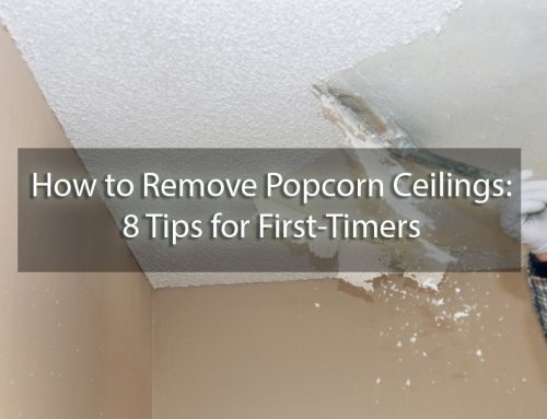 How to Remove Popcorn Ceiling: 8 Tips for First-Timers