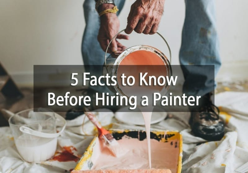 5 Facts to Know Before Hiring a Painter - cover
