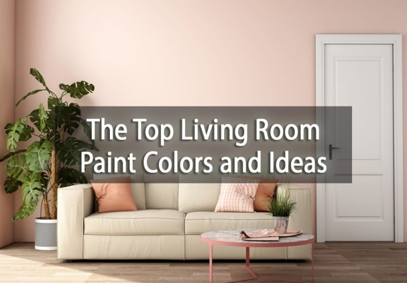 The Top Living Room Paint Colors and Ideas - cover