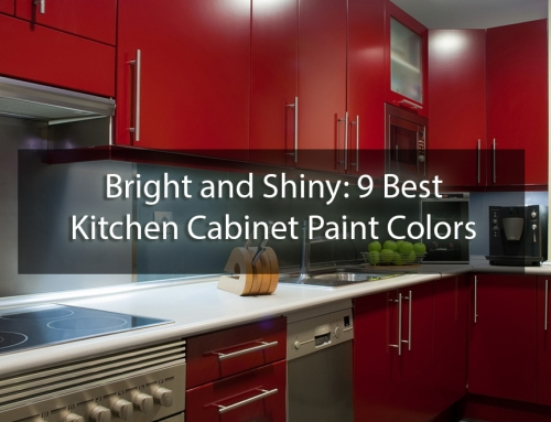 Bright and Shiny: 9 Best Kitchen Cabinet Paint Colors