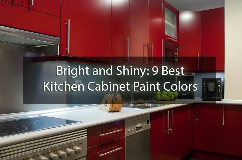 Bright and Shiny: 9 Best Kitchen Cabinet Paint Colors ...